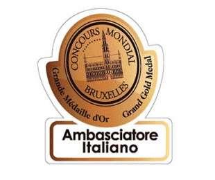 Concours Mondial de Bruxelles: Ambasciatore Italiano